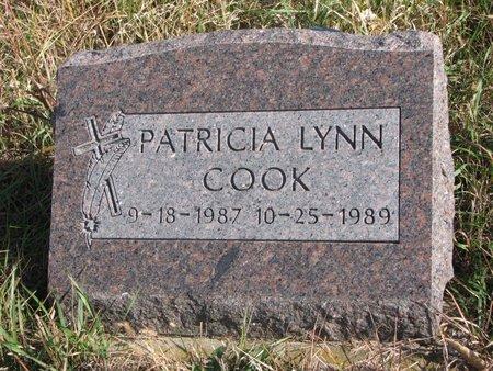 COOK, PATRICIA LYNN - Thurston County, Nebraska   PATRICIA LYNN COOK - Nebraska Gravestone Photos