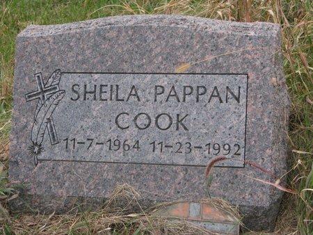 COOK, SHEILA - Thurston County, Nebraska | SHEILA COOK - Nebraska Gravestone Photos