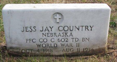 COUNTRY, JESS JAY - Thurston County, Nebraska | JESS JAY COUNTRY - Nebraska Gravestone Photos