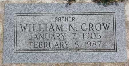 CROW, WILLIAM N. - Thurston County, Nebraska | WILLIAM N. CROW - Nebraska Gravestone Photos