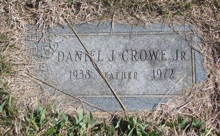 CROWE, DANIEL J. JR. - Thurston County, Nebraska | DANIEL J. JR. CROWE - Nebraska Gravestone Photos