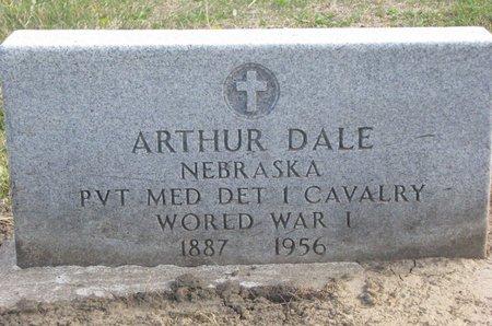DALE, ARTHUR - Thurston County, Nebraska | ARTHUR DALE - Nebraska Gravestone Photos
