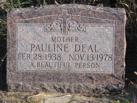 DEAL, PAULINE - Thurston County, Nebraska | PAULINE DEAL - Nebraska Gravestone Photos