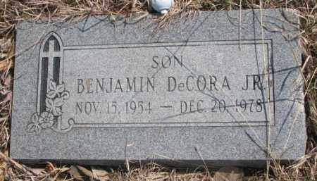 DECORA, BENJAMIN JR. - Thurston County, Nebraska   BENJAMIN JR. DECORA - Nebraska Gravestone Photos