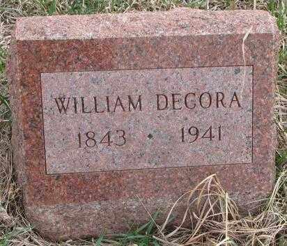 DECORA, WILLIAM - Thurston County, Nebraska | WILLIAM DECORA - Nebraska Gravestone Photos