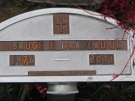 DRAPEAU, BRUCE E. JR. - Thurston County, Nebraska   BRUCE E. JR. DRAPEAU - Nebraska Gravestone Photos