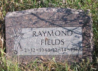 FIELDS, RAYMOND - Thurston County, Nebraska | RAYMOND FIELDS - Nebraska Gravestone Photos