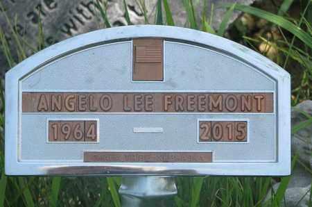 FREEMONT, ANGELO LEE - Thurston County, Nebraska | ANGELO LEE FREEMONT - Nebraska Gravestone Photos