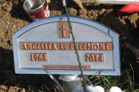 FREEMONT, ANGELITA L. - Thurston County, Nebraska | ANGELITA L. FREEMONT - Nebraska Gravestone Photos