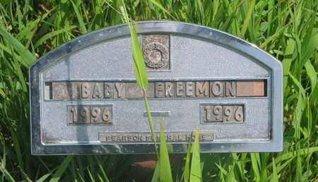 FREEMONT, BABY - Thurston County, Nebraska | BABY FREEMONT - Nebraska Gravestone Photos