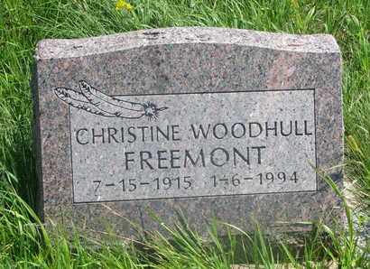 FREEMONT, CHRISTINE - Thurston County, Nebraska | CHRISTINE FREEMONT - Nebraska Gravestone Photos