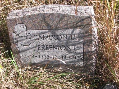 FREEMONT, CAMERON LEE - Thurston County, Nebraska | CAMERON LEE FREEMONT - Nebraska Gravestone Photos