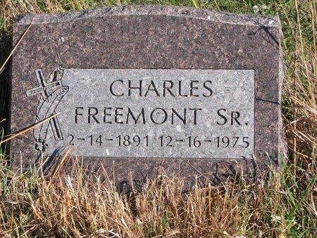 FREEMONT, CHARLES SR. - Thurston County, Nebraska | CHARLES SR. FREEMONT - Nebraska Gravestone Photos