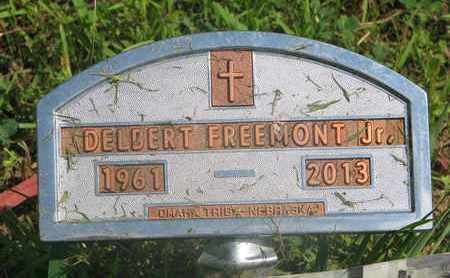 FREEMONT, DELBERT JR. - Thurston County, Nebraska   DELBERT JR. FREEMONT - Nebraska Gravestone Photos