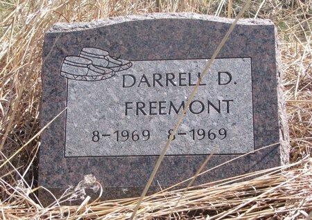 FREEMONT, DARRELL D. - Thurston County, Nebraska | DARRELL D. FREEMONT - Nebraska Gravestone Photos