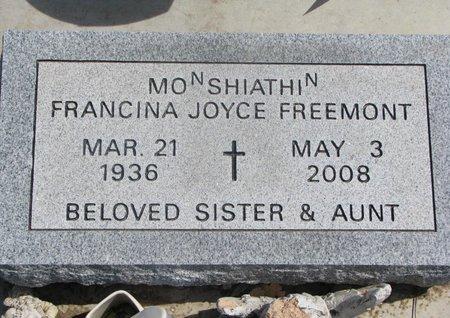 FREEMONT, FRANCINA JOYCE - Thurston County, Nebraska | FRANCINA JOYCE FREEMONT - Nebraska Gravestone Photos