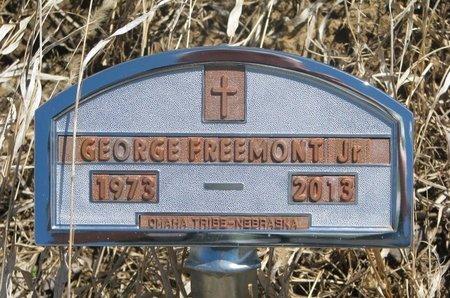 FREEMONT, GEORGE JR. - Thurston County, Nebraska | GEORGE JR. FREEMONT - Nebraska Gravestone Photos