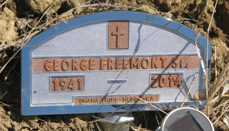 FREEMONT, GEORGE SR. - Thurston County, Nebraska   GEORGE SR. FREEMONT - Nebraska Gravestone Photos