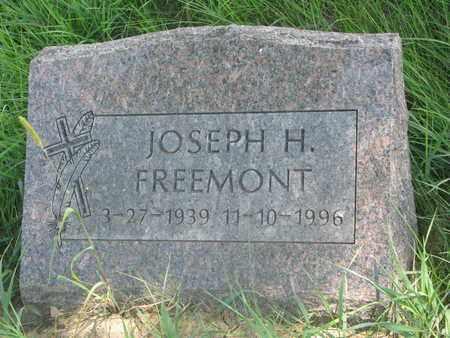 FREEMONT, JOSEPH H. - Thurston County, Nebraska   JOSEPH H. FREEMONT - Nebraska Gravestone Photos