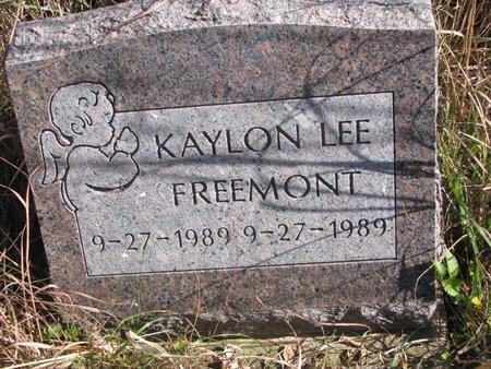 FREEMONT, KAYLON LEE - Thurston County, Nebraska | KAYLON LEE FREEMONT - Nebraska Gravestone Photos