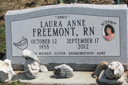 FREEMONT, LAURA ANNE - Thurston County, Nebraska | LAURA ANNE FREEMONT - Nebraska Gravestone Photos
