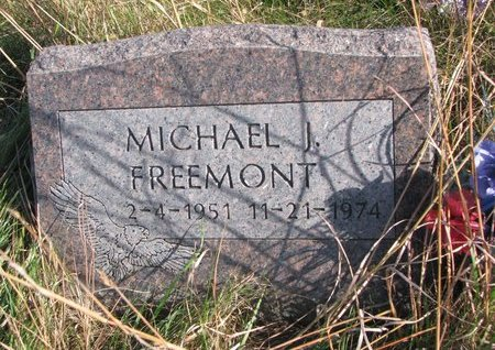 FREEMONT, MICHAEL J. - Thurston County, Nebraska | MICHAEL J. FREEMONT - Nebraska Gravestone Photos