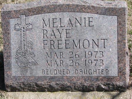 FREEMONT, MELANIE RAYE - Thurston County, Nebraska | MELANIE RAYE FREEMONT - Nebraska Gravestone Photos