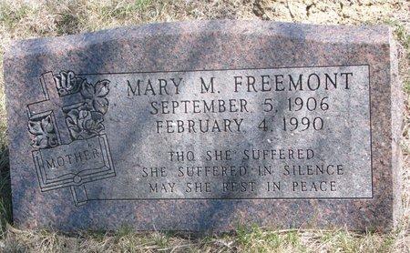 FREEMONT, MARY M. - Thurston County, Nebraska | MARY M. FREEMONT - Nebraska Gravestone Photos