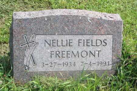 FIELDS FREEMONT, NELLIE - Thurston County, Nebraska | NELLIE FIELDS FREEMONT - Nebraska Gravestone Photos