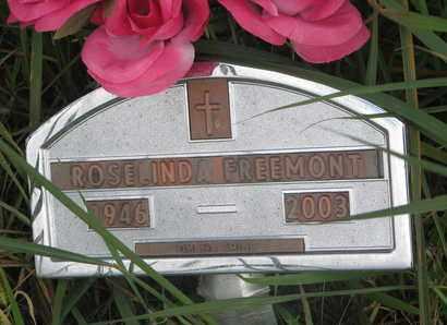 FREEMONT, ROSE LINDA - Thurston County, Nebraska | ROSE LINDA FREEMONT - Nebraska Gravestone Photos