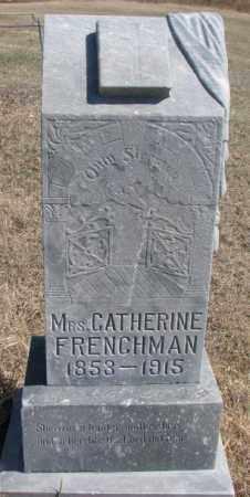 FRENCHMAN, CATHERINE - Thurston County, Nebraska   CATHERINE FRENCHMAN - Nebraska Gravestone Photos