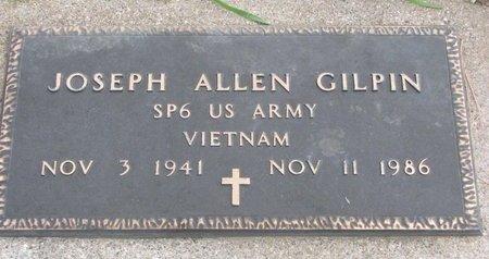 GILPIN, JOSEPH ALLEN - Thurston County, Nebraska | JOSEPH ALLEN GILPIN - Nebraska Gravestone Photos