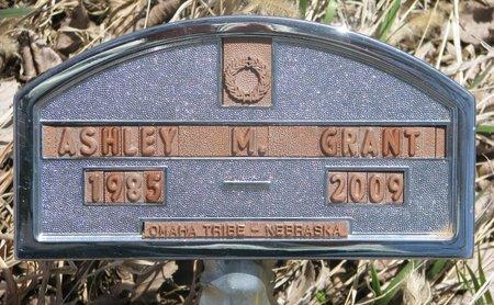 GRANT, ASHLEY M. - Thurston County, Nebraska   ASHLEY M. GRANT - Nebraska Gravestone Photos