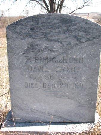 "GRANT, DAVID ""TURNING HORN"" - Thurston County, Nebraska | DAVID ""TURNING HORN"" GRANT - Nebraska Gravestone Photos"
