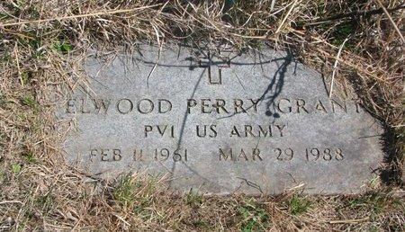 GRANT, ELWOOD PERRY - Thurston County, Nebraska | ELWOOD PERRY GRANT - Nebraska Gravestone Photos