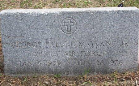 GRANT, GEORGE FREDRICK JR. - Thurston County, Nebraska | GEORGE FREDRICK JR. GRANT - Nebraska Gravestone Photos