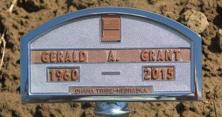 GRANT, GERALD A. - Thurston County, Nebraska | GERALD A. GRANT - Nebraska Gravestone Photos