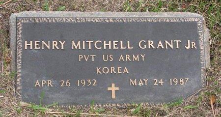 GRANT, HENRY MITCHELL JR. - Thurston County, Nebraska | HENRY MITCHELL JR. GRANT - Nebraska Gravestone Photos