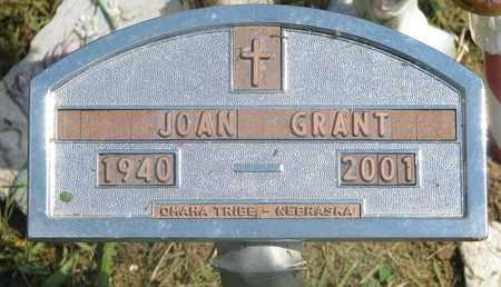 GRANT, JOAN - Thurston County, Nebraska | JOAN GRANT - Nebraska Gravestone Photos