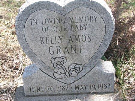 GRANT, KELLY AMOS - Thurston County, Nebraska   KELLY AMOS GRANT - Nebraska Gravestone Photos