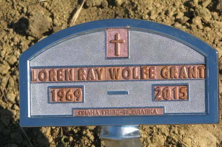 GRANT, LOREN RAY - Thurston County, Nebraska | LOREN RAY GRANT - Nebraska Gravestone Photos