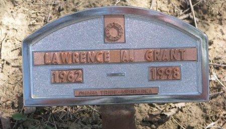 GRANT, LAWRENCE A. - Thurston County, Nebraska | LAWRENCE A. GRANT - Nebraska Gravestone Photos