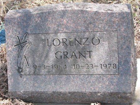 GRANT, LORENZO - Thurston County, Nebraska | LORENZO GRANT - Nebraska Gravestone Photos