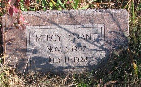 GRANT, MERCY - Thurston County, Nebraska   MERCY GRANT - Nebraska Gravestone Photos