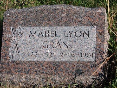 GRANT, MABEL - Thurston County, Nebraska | MABEL GRANT - Nebraska Gravestone Photos