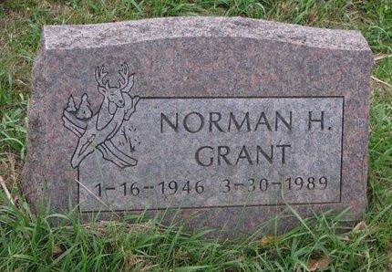 GRANT, NORMAN H. - Thurston County, Nebraska   NORMAN H. GRANT - Nebraska Gravestone Photos