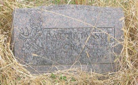 GRANT, PATRICIA SUE - Thurston County, Nebraska | PATRICIA SUE GRANT - Nebraska Gravestone Photos