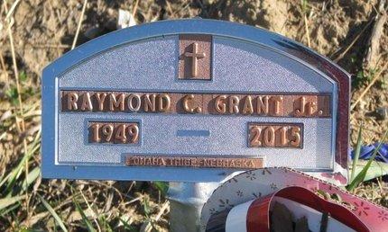 GRANT, RAYMOND C. JR. - Thurston County, Nebraska | RAYMOND C. JR. GRANT - Nebraska Gravestone Photos