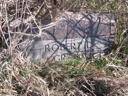 GRANT, ROBERT L. - Thurston County, Nebraska | ROBERT L. GRANT - Nebraska Gravestone Photos