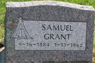 GRANT, SAMUEL - Thurston County, Nebraska   SAMUEL GRANT - Nebraska Gravestone Photos